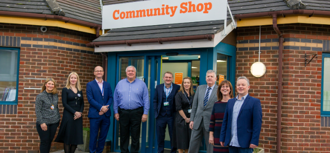 Community Shop, Award-winning social supermarket opens in Halton